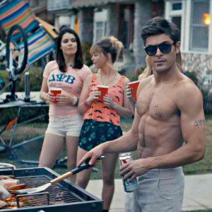 SHIRTLESS ZAC EFRON IN THE MOVIE NEIGHBORS