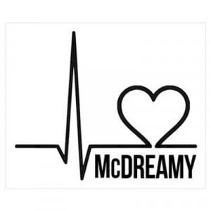 CafePress > Wall Art > Posters > McDreamy Grey's Anatomy Poster