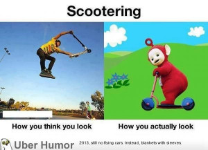 Dear people that ride scooters.. | Funny Pictures, Quotes, Pics ...