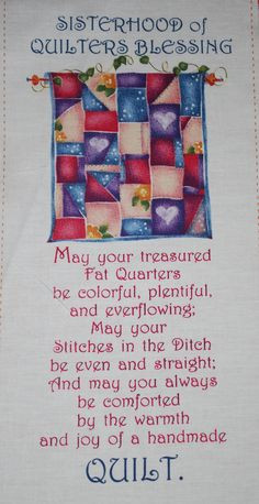 Quilters Blessing More