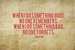 quote-book:Something Good, Something Bad