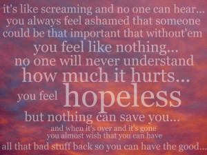 hopeless, phrases, pink, rihanna, we found love - inspiring picture on ...