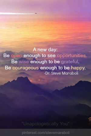 Quotes About New Day (32 quotes)