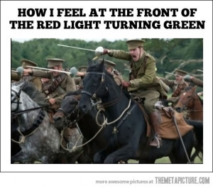 Funny photos funny charge old war horses