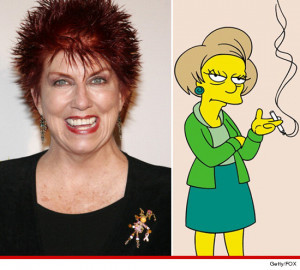 Marcia Wallace -- who voiced Edna Krabappel on