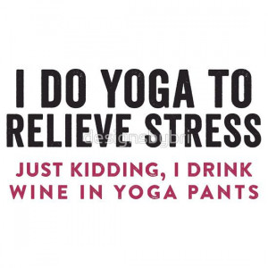 Do Yoga To Relieve Stress | Women's T-Shirt
