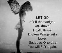 Angel with a Broken Wing Quote