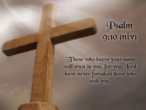 """... For You, Lord Have Never Forsake Those Who Seek You """" ~ Bible Quotes"""