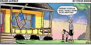 Memorial Day Cartoon: Funny Grand Avenue comic strip by Steve Breen a ...