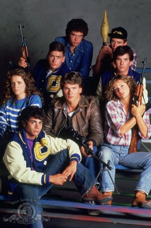 Red Dawn....WOLVERINES!!!