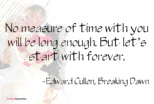 Marriage Quote by Edward Cullen