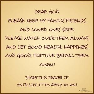 Prayer For Your Family. #Prayer #Jesus