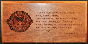 Army Fare Well Plaque Quotes