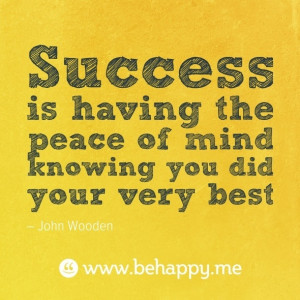 John Wooden Success Quote