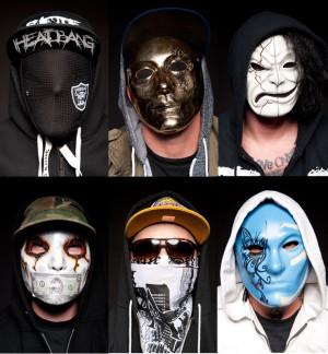 Hollywood Undead - Ostre brzmienia