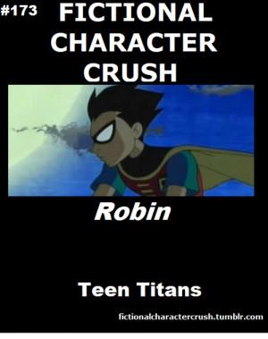 Fictional Character Crush Robin