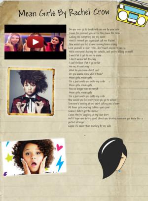 Image search: Mean Girls Lyrics