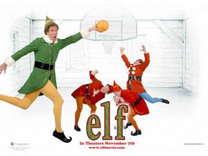 Elf The Movie Poster Elf movie basketball wallpaper