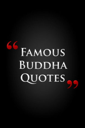 Famous Buddha Quotes by Feel Social iPhone App & Review