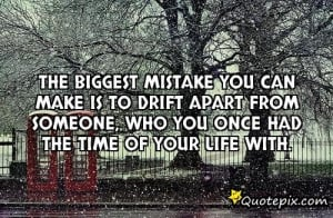 Quotes About Drifting Apart