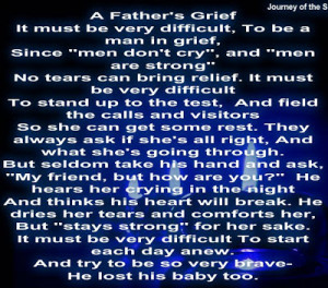 to all the precious fathers who are now grieving fathers