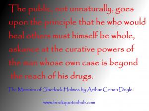 Sherlock Holmes Quotes HD Wallpaper 9