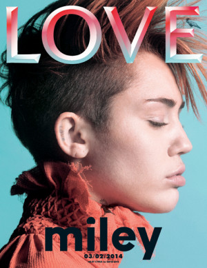 Miley Cyrus Love Magazine spring 2014