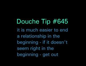 PLAIN VANILLA DOUCHE | I dated that douche™ .com