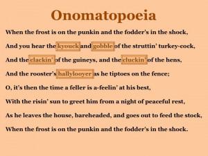 examples onomatopoeia poems onomatopoeia freedom poem sample 1