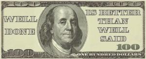 17 Benjamin Franklin Mind Blowing Quotes In 100 Dollar Bills