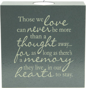 Those We Love - Tealight Candle