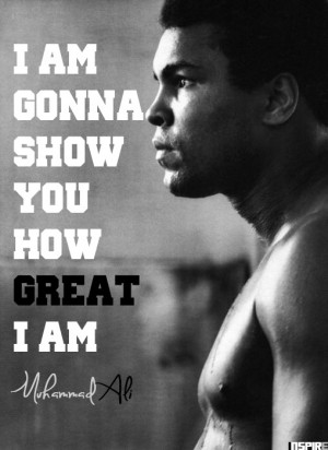 to be a great champion muhammad ali quotes impossible is