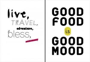 Happy #quote #quotes #food #travel