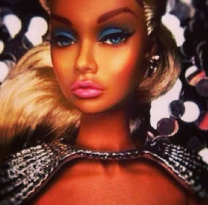 Black girl Barbie! ( very cute!)