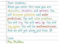 Math Teacher Quotes and Sayings Math quotes for teachers Math Quotes ...