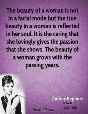 The beauty of a woman is not in a facial mode but the true beauty in a ...