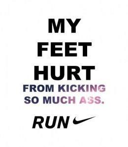 run, quote, fun