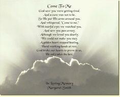 Memorial Poems More