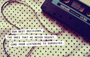 listening quotes listen to yourself