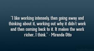 Miranda otto q...