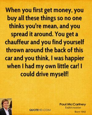 Funny Paul Mccartney Quote Tea
