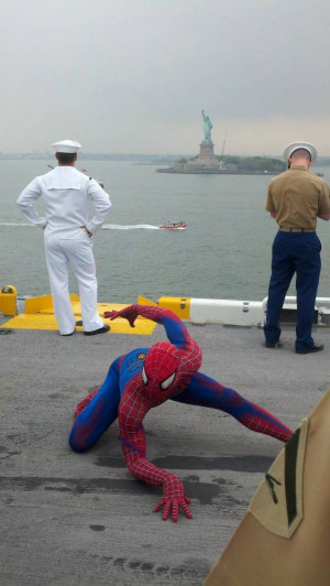 The most epic picture from my trip to New York City