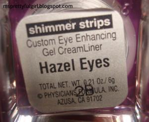 Hazel Eyes Quotes Physicians formula haul part 3