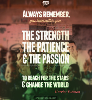 Strength, patience, passion #quote