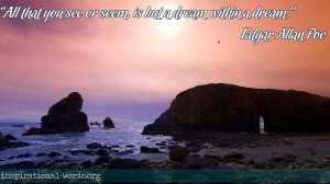 Poe Quotes 9, A picture with an Edgar Allan Poe quote. Edgar Allan Poe ...
