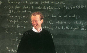 Andrew Wiles and Fermat's Last Theorem