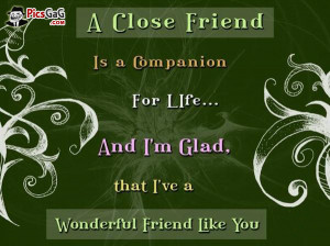 Close Friend Quote and Friendship SMS Short Message. A close friend is ...