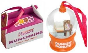 Dunkin Donuts ornaments 2013