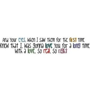 Give Love A Try Quote♥ Jonas Brothers Please use - Polyvore