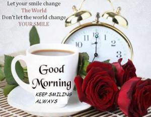 Cheerful Morning.